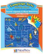 Alphabet Activity Series - Sound Jigsaws and Word Matching - Grade K-1  - Downloadable eBook