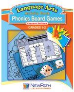 Phonics Board Games - Grade 1 - 2  - Downloadable eBook