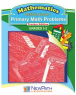 Primary Math Problems Series - Book 1 - Grades 1 - 2 - Downloadable eBook