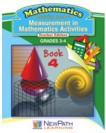 Measurement in Mathematics Activities Series - Book 4 - Grades 3 - 4 - Downloadable eBook