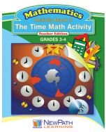 The Time Math Activity Series - Book 2 - Grades 3 - 4 - Downloadable eBook