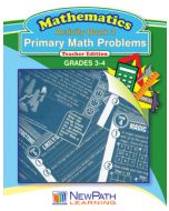 Primary Math Problems Series - Book 2 - Grades 3 - 4 - Downloadable eBook