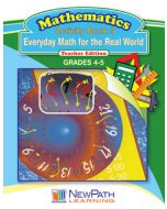Everyday Math for the Real World Series - Book 3 - Grades 4 - 5 - Downloadable eBook