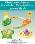 Photosynthesis & Cellular Reproduction Student Learning Guide - Grades 6 - 10 - Downloadable eBook