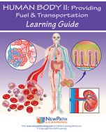 Human Body 2: Providing Fuel & Transportation Student Learning Guide - Grades 6 - 10 - Downloadable eBook