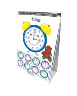 Time, Money & Measurement Curriculum Mastery® Flip Chart Set - Early Childhood - English Version