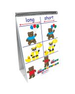Positions/Opposites Curriculum Mastery® Flip Chart Set - Early Childhood - English Version