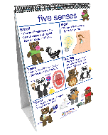 All About Me Curriculum Mastery® Flip Chart Set - Early Childhood - English Version