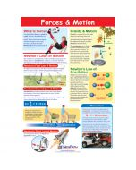 Forces & Motion Poster, Laminated