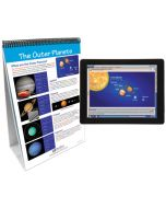 Our Solar System Curriculum Mastery® Flip Chart Set With MULTIMEDIA Lesson