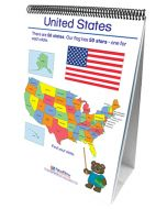Geography - Social Studies Curriculum Mastery® Flip Chart Set - Early Childhood - English Version