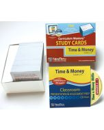 Time & Money Skills - Grades 2 - 4 Study Cards