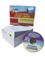 High School Chemistry Study Cards