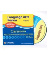 TEXAS Grade 3 Language Arts Interactive Whiteboard CD-ROM - Site License