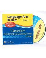 Grade 5 Language Arts Interactive Whiteboard CD-ROM - Site License