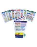 Math Facts - Grades 2 - 5 Visual Learning Guides™ Set