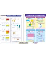Multiplying & Dividing Fractions Visual Learning Guide
