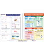 Operations with Mixed Numbers Visual Learning Guide