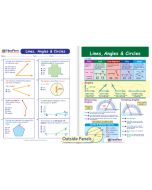Lines, Angles & Circles Visual Learning Guide