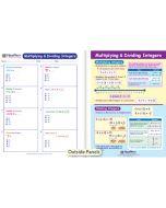 Multipliyng & Dividing Integers Visual Learning Guide