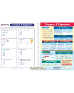Integers & Exponents Visual Learning Guide