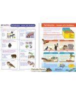 Vertebrates - Animals with Backbones Visual Learning Guide