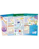 Chromosomes Bulletin Board Chart Set of 4