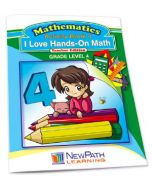 I Love Hands-On Math Workbook- Grade 4 - Print Version
