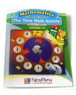 The Time Math Activity Series Workbook - Book 1 - Grades 1 - 2 - Print Version