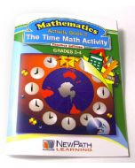 The Time Math Activity Series Workbook- Book 2 - Grades 3 - 4 - Print Version