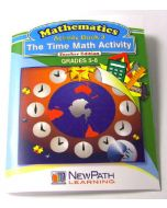The Time Math Activity Series Workbook - Book 3 - Grades 5 - 6 - Print Version