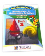 Measurement in Mathmatics Activities Series Workbook- Book 3 - Grades 2 - 3 - Print Version