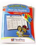 Real Life Reading Workbook - Grades 4 - 5 - Print Version