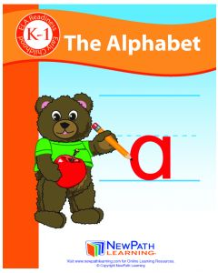 The Alphabet Student Activity Guide - Grades K-1 - Downloadable eBook