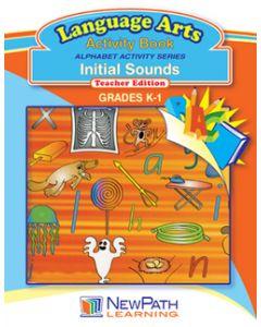 Alphabet Activity Series - Initial Sounds - Grade K-1  - Downloadable eBook