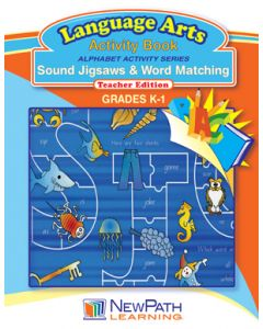 Alphabet Activity Series - Sound Jigsaws and Word Matching - Grade K-1  - Downloadable eBook