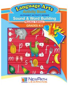 Alphabet Activity Series - Sound and Word Building - Grade K-1  - Downloadable eBook