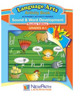 Alphabet Activity Series - Sound and Word Development - Grade K-1  - Downloadable eBook