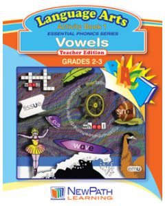 Essential Phonics Series - Vowels - Grade 2 - 3  - Downloadable eBook