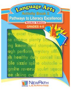 Pathways to Literacy Excellence Series - Book 2 - Grades 4 - 5 - Downloadable eBook