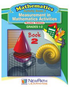 Measurement in Mathematics Activities Series - Book 2 - Grades 1 - 2 - Downloadable eBook