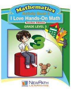I Love Hands-On Math - Grade 3 - Downloadable eBook