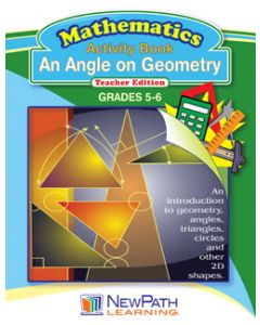 An Angle on Geometry Workbook - Grades 5 - 6 - Downloadable eBook