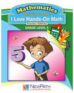 I Love Hands-On Math - Grade 5 - Downloadable eBook