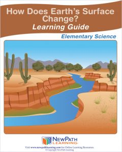 How Does Earth's Surface Change? Student Learning Guide - Grades 3 - 5 - Print Version Set of 10