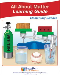 All About Matter Student Learning Guide - Grades 3 - 5 - Downloadable eBook