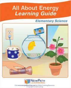 All About Energy Student Learning Guide - Grades 3 - 5 - Downloadable eBook