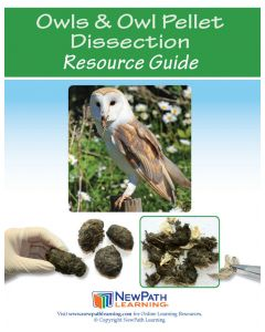Owls and Owl Pellet Dissection Resource Guide - Grades 4 - 9 - Print Version - Set of 10