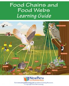 Food Chains & Food Webs Student Learning Guide - Grades 6 - 10 - Print Version - Set of 10