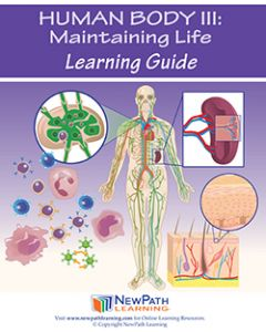 Human Body 3: Maintaining Life Student Learning Guide - Grades 6 - 10 - Print Version